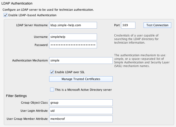 Authentication Guide - Remote Support Software by SimpleHelp