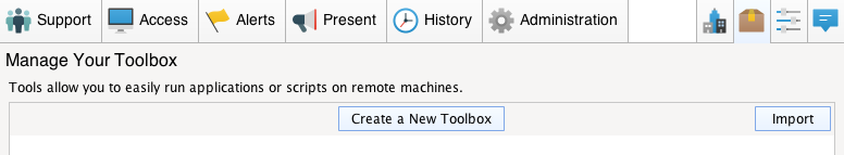 Toolbox Screenshot